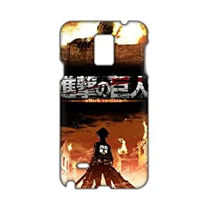 Angl 3D Case Cover Attact On Titan Phone Case for Samsung Galaxy Note4