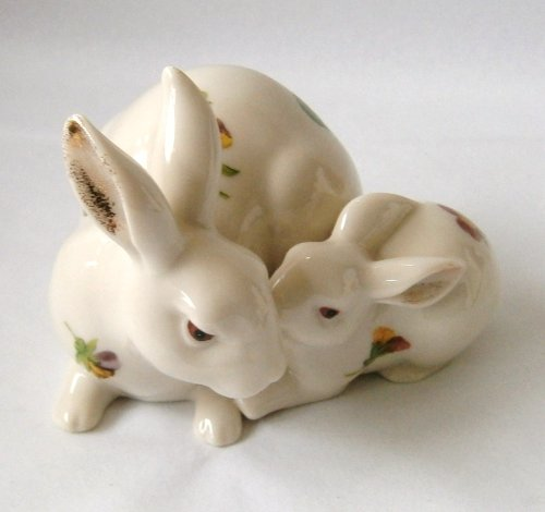 (Lenox Floral Rabbit Figurine New)