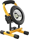 Parts Flix Spotlight Work Light, Outdoor, Camping Lights with Built-in Rechargeable Lithium Batteries (PF-W5110B-Y)