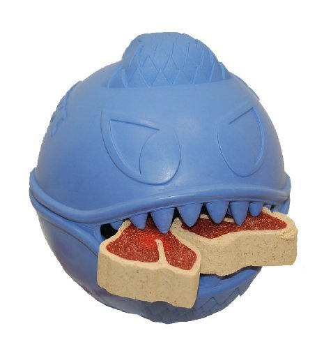 Jolly Pets Monster Ball Dog Toy, 3.5 Inches by Jolly Pets