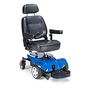 Power Wheelchair w/Semi-Recline Captain Seat (Invacare Pronto P31 Power Wheelchair) by Invacare Sold By Phillips Health Care
