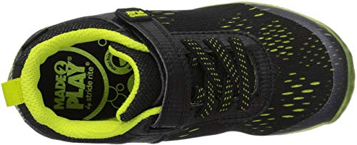 Pictures of Stride Rite Boys' Made 2 Play Lighted BB60272 Black/Neon 2