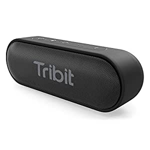 Tribit XSound Go Portable Bluetooth Speaker, 12W Wireless Speaker with Rich Bass, IPX7 Waterproof, 24-Hour Playtime, 66 FT Bluetooth Range & Built-in Mic, for Party, Travel [The Wirecutter's Pick]