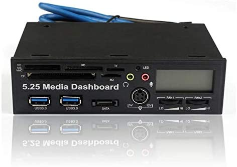 5.25 USB 3.0 High Speed Media Dashboard Front Panel PC Multi Card Reader 2015 USB Card Reader