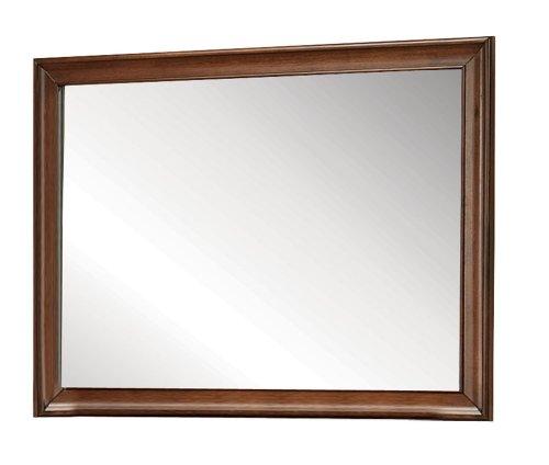 ACME 20457 Konane Mirror, Brown Cherry Finish
