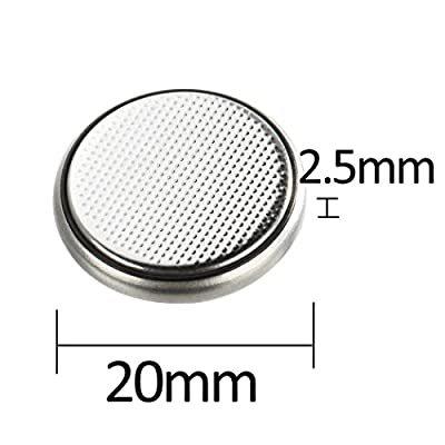 2025 CR2025 3V Lithium Battery Coin Cell for LED Tea Light Party Candles Bluetooth 3D Glasses Car Remote Toys Watches (200pcs Bulk)