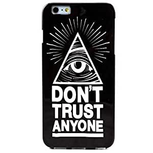 Glowing Eyes 1 Pattern TPU absorbed Soft Case for iphone 5c the It