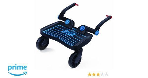 Lascal Mini BuggyBoard con conectores universales para 18 meses y superior (azul)