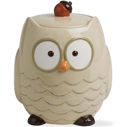 tag Autumn Owl Cookie Jar