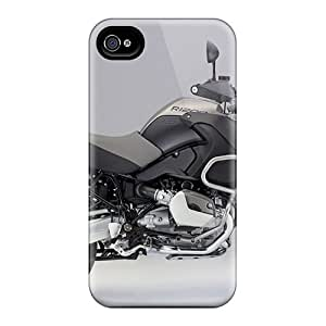 For Iphone 4/4s Tpu Phone Case Cover(bmw R1200)