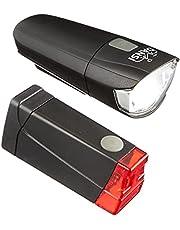 DANSI Led-fietslampenset, lichtsterktes