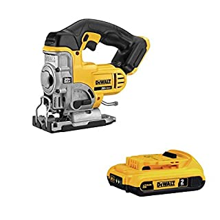 DEWALT DCS331B 20-volt Max Li-Ion Jig Saw with DCB203 20V Max 2.0AH Li-Ion Battery Pack (B07PL776NB) | Amazon price tracker / tracking, Amazon price history charts, Amazon price watches, Amazon price drop alerts