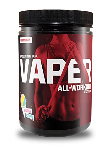Built To Win Vaper All-WorkoutTM (Pre-Workout + BCAAs + Fat Burner + Electrolytes) - Snow Cone flavor