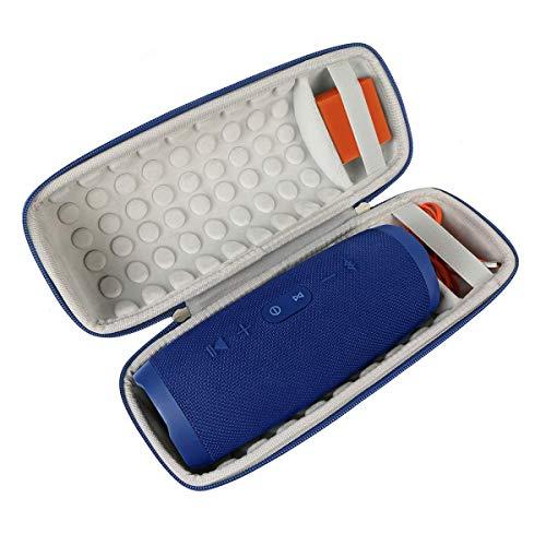 Khanka Hard Travel Case Replacement for JBL Charge 4 Portable Waterproof Wireless Bluetooth Speaker (Blue)