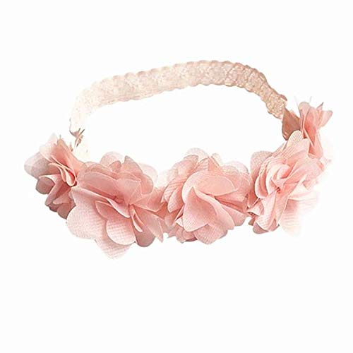 Cute Toddler Baby Girl Headband Lace Bow Flower Infant Hair Band Accessories