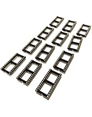 Machined DIP 2.54mm Pitch IC Socket (28 Pin Wide, 12 Pieces)