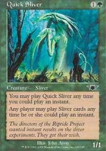 (Magic: the Gathering - Quick Sliver - Legions - Foil)