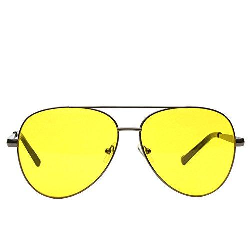 y de de Estilo Con Visión Gafas al Sol Nocturna Aire Las Libre Ruikey Gafas Gafas Mujere de Gris Hombres de Sol qO4XSwZ