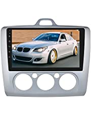 Android 10 system 9 Inch Capacitieve Touch Screen Auto Stereo Multimedia Player GPS Navi met Bluetooth Spiegel-link TPMS USB SWC FM Radio Audio voor Ford Focus Exi MT 2004-2011