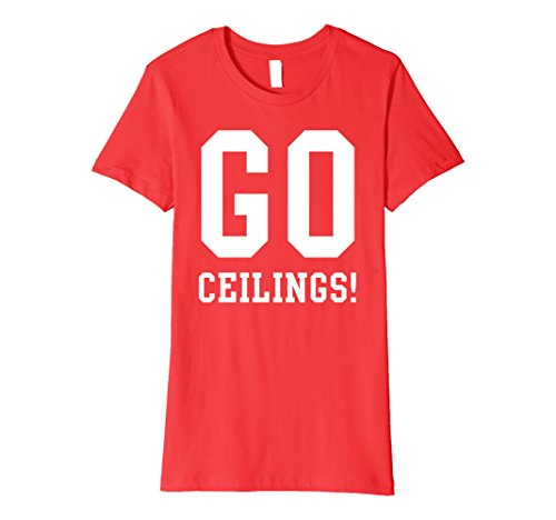 Fan Halloween Ceiling Costumes (Womens Go Celings! Ceiling Fan Halloween Costume T-Shirt Large)