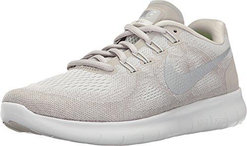 Nike Women's Free RN 2017 Running Shoes (6.5, Sail)