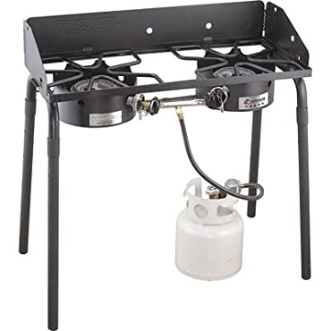 Camp Chef Explorer II Universal Double Burner Stove, 60,000 BTU (EX60LW)