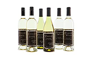 "Oregon Wines, ""Best Selling Whites"" Bundle Mixed Pack, 6 x 750 mL"