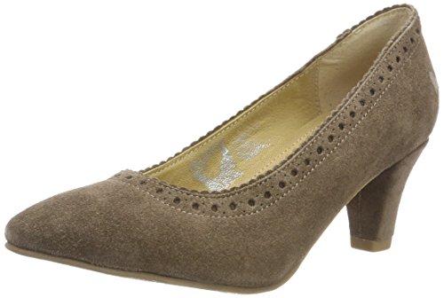 Women's D Toe amp; 4454 Spieth Lutilde Heels pumps Wensky taupe Beige Closed 498 wZIaqET
