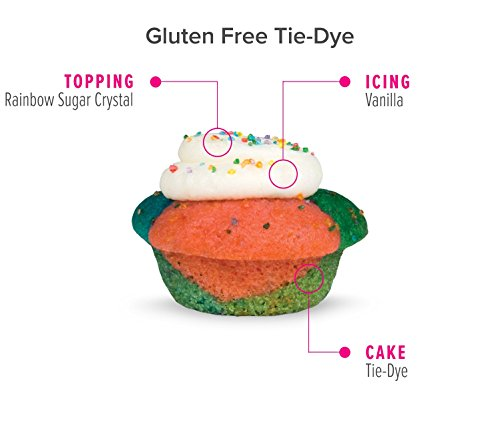 Baked by Melissa Cupcakes The OMGF (Oh My Gluten Free) - Assorted Bite-Size Cupcakes, 50 Count by Baked by Melissa (Image #6)