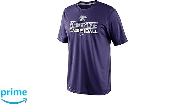 ef0d65a5cc Amazon.com   Nike Kansas State Wildcats Basketball Dri-FIT 2013 Team Issue  Practice T-Shirt (XL