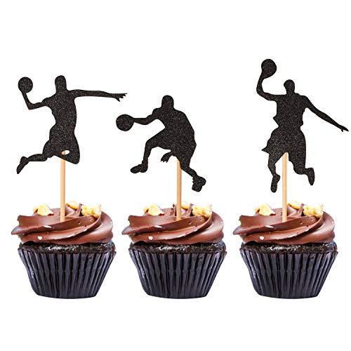 Basketball Cupcake Toppers Basketball Cupcake Rings 24 Ct