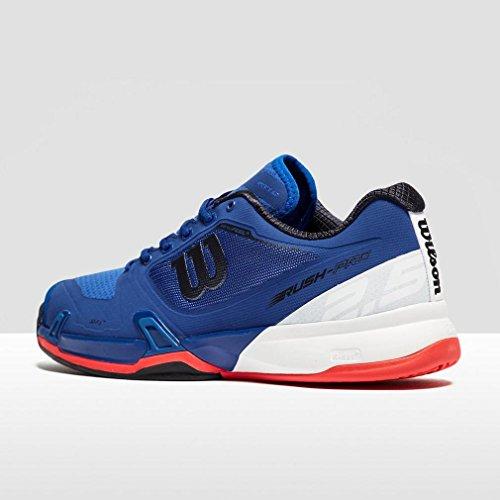 Homme Pro 000 Tennis Rush Wilson Neon Chaussures Bleu de Red 2 Mazarine White Blue 5 0Z6Awq