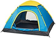 Never Landing Pop-Up Tent for family, couple with kids, Beach sun shelter, Picnic fun, Water Resistant, UV Pro