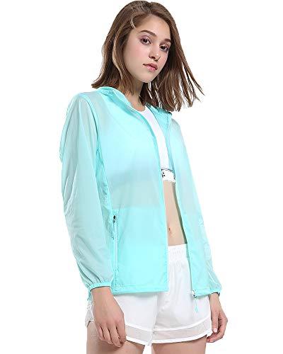 Lumberfield Outwear Lightweight Sun Protection Women's Skin Jacket Windbreaker ()
