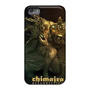 Perfect Cell-phone Hard Covers For Iphone 6plus (pii18009xfbw) Provide Private Custom High Resolution Chimaira Band Pattern