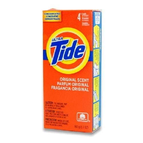 Laundry Detergent from Tide, 4-Load Powder Detergent, 5.7 oz. (Case of 14) by P&G Professional
