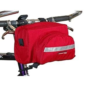 Bushwhacker Durango Red Bicycle Handlebar Bag Cycling Front Pack Bike Bag Accessories Frame