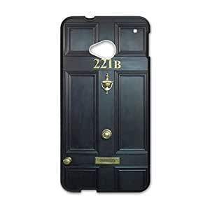 JIANADA 221B Door Cell Phone Case for HTC One M7