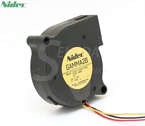 For Nidec D05F-24PH 03B FH6-1488 DC 24V 0.09A turbo blower axial cooling fans