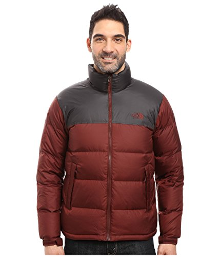 North Face Men's Nuptse Jacket (Sequoia Red) (large)