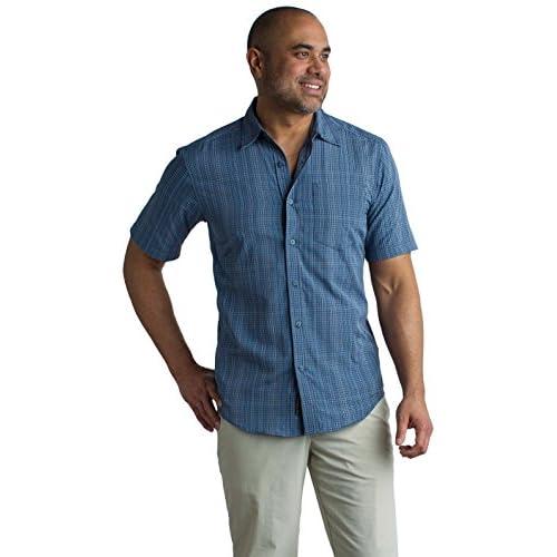 Cheap ExOfficio Men's Salida Ombre Plaid Short-Sleeve Shirt for cheap