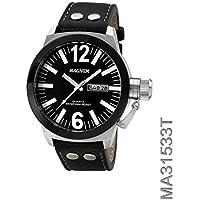 Relógio MAGNUM analógico couro ma31533t