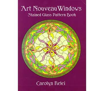 Art Nouveau Windows - Stained Glass Pattern ()