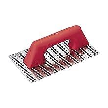 Rubi 65962 Rascador de mortero monocapa con mango plástico, Gris, 250 x 144 mm