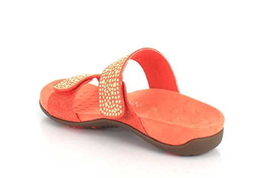 Rest Samoa Coral Sandals Vionic 341 Leather Womens qg0xcPwH