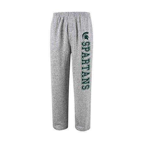 Concept Sport Michigan State Spartans Adult NCAA Reprise Pajama Pants - Gray, Medium