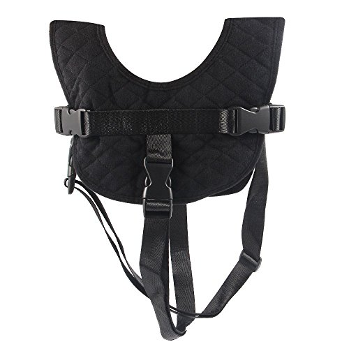 Toddler Flight Vest, Child Airplane Travel Harness Safety Chair Harness Seat Strap - Black by ROMIRUS