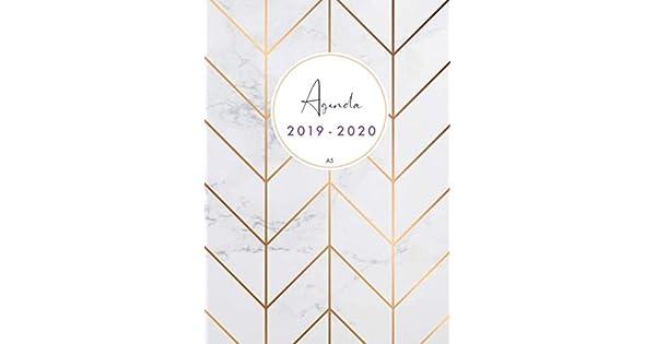 Amazon.com: Agenda 2019-2020 a5: Organiza tu día - Agenda ...