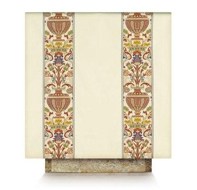 160 Cm Cream - Cream Lectern hanging Coronation Tapestry LH115-K25 (cream (50cm x 160cm))