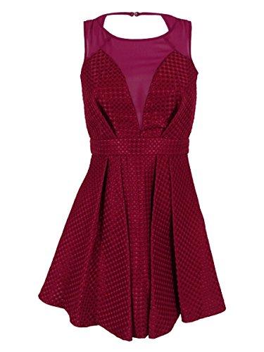 bcbgeneration dress pleated cutout - 4